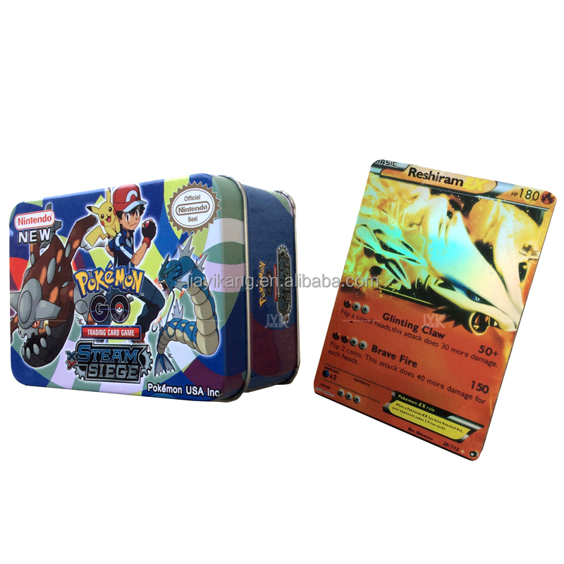 Sales Promotion Tin Box Playing Card Pokemon Cards