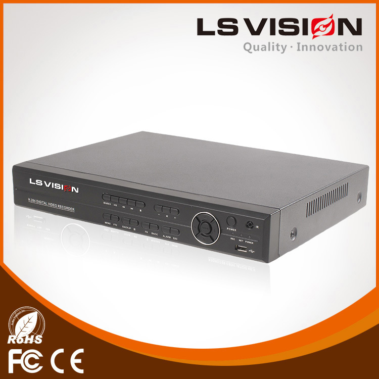 LS VISION Alibaba Best Sellers 4Ch H.264 Network Embedded Dvr Ahd Camera 1080P 4 Channel Ahd Dvr