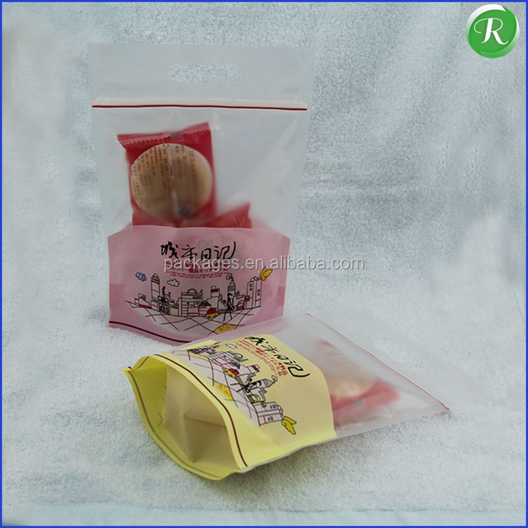 Plastic Flexile Packaging Bread Compound Plastic Bag