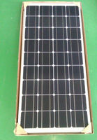 high power 100W mono solar panel