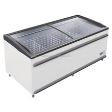 2018 New Top Open Chest Island Freezer For Sale