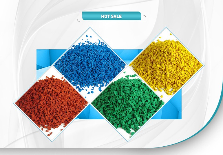 Various Colors epdm crumb rubber for playground surface-