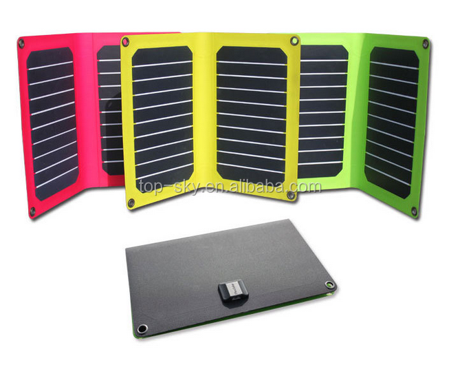 Topsky 5V 10.6W Ultra Portable Solar Charger Amazing Sun Power Generator for USB Electronics