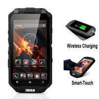 iMAN i3 Wireless Charging phone RAM 1G ROM 16G 4.3 inch MTK6589 Quad core ip68 waterproof rugged phone