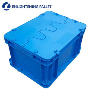 good quality recyclable stackable euro plastic box/crate/carton