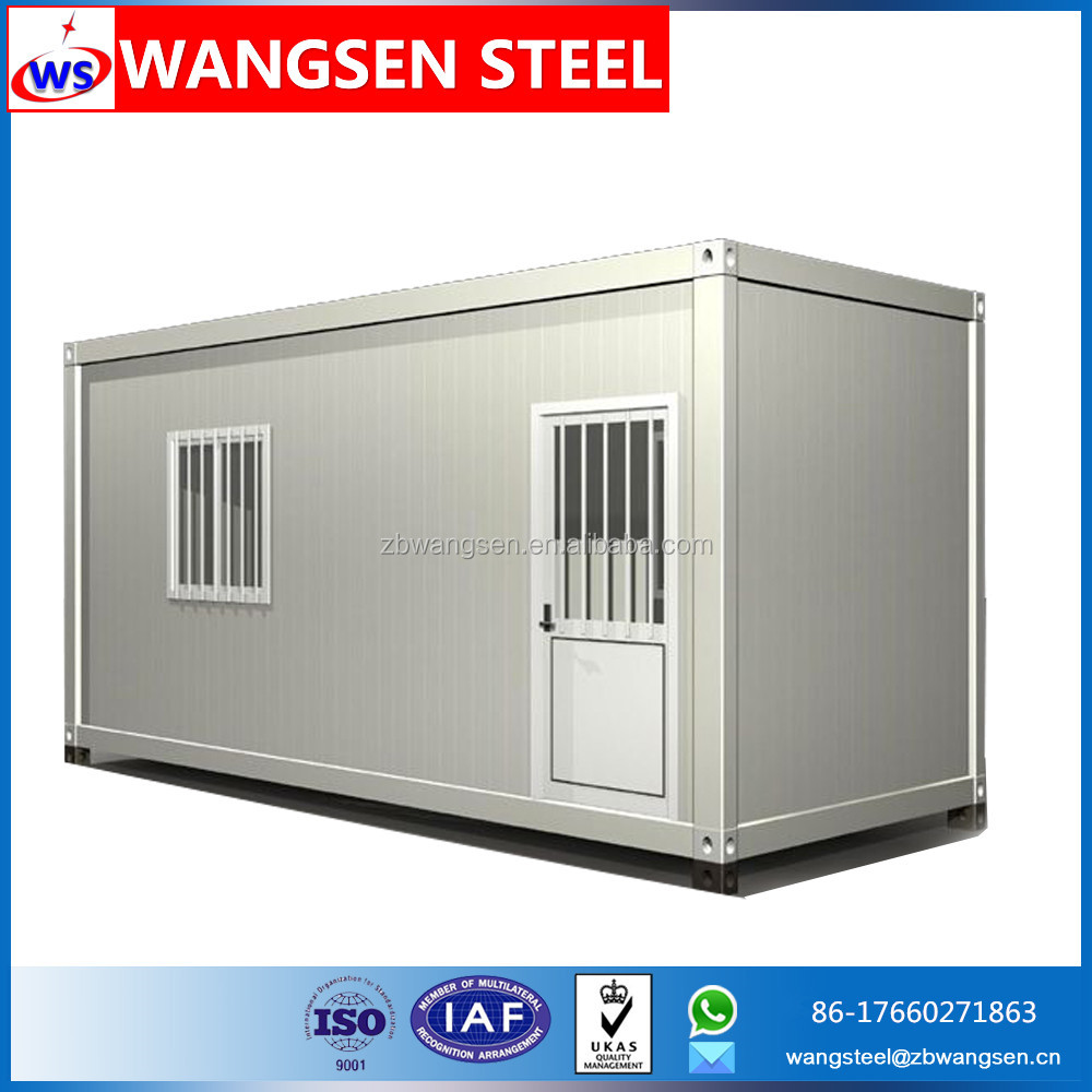 Pre-made portable modular site flatpack office prefab movable container site office building