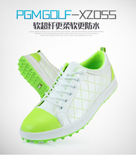 top quality men green golf shoes/fancy men super fiber water proof lady golf shoes/amazing golf shoes