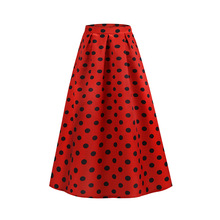 or40416a 2019 summer new styles dot printing drape women <strong>skirt</strong>
