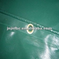 650g green PVC tarpaulin for truck tent over