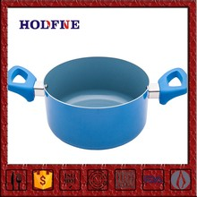 Home Kitchen Non-stick Cookware Set or Singleton with Handle Puwpkin Shape Enamel Castamel Cookware Saucepan