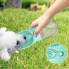 Plastic Travel Pet Cat Portable Dog Water Bottle Leak Proof Outdoor Drinking Cup Bowl Dispenser Pet Playing Walking Hiking