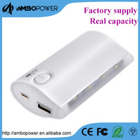 promotion mobile phone 5200mah power bank lighter