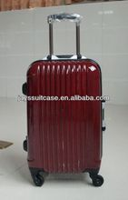 JAYS 20/24 inch Red Color ABS/PC School Trolley Bag