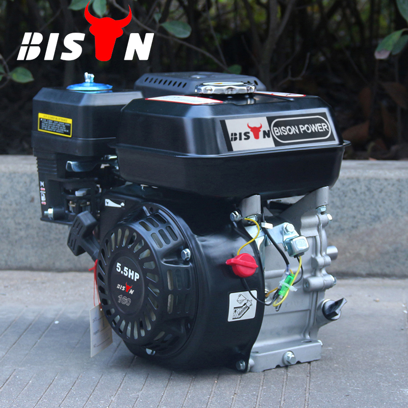BISON(CHINA) Model GX200 6.5hp Gasoline Engine 4 stroke OHV 168F