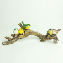 Small gift for kids resin miniature animal model birds