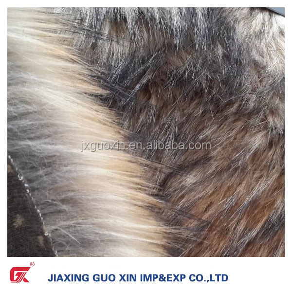 Top quality fur accessory Fake/Faux Fur for coat from factory