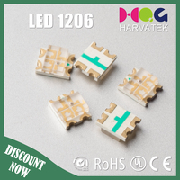 Best quality 3.2x2.7x1.1mm sanan chip surface mount 0603 bi-color red green led