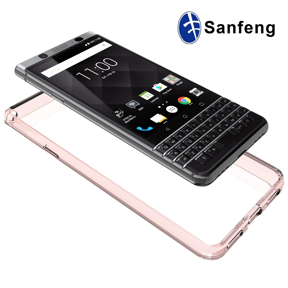 Crystal Clear Soft TPU Back Case Protective for Blackberry Mercury Phone Case