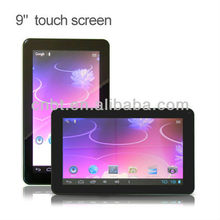 "9"" tablet pc with chip gsm with TFT screen"