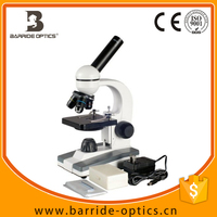 (BM-F6) Compound Monocular Microscope 40x-1000x Magnification, LED Illumination, Brightfield