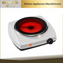 2015 high quality 220v single infrared stove/induction cooker ceramic glass/ electric single burner induction cooker