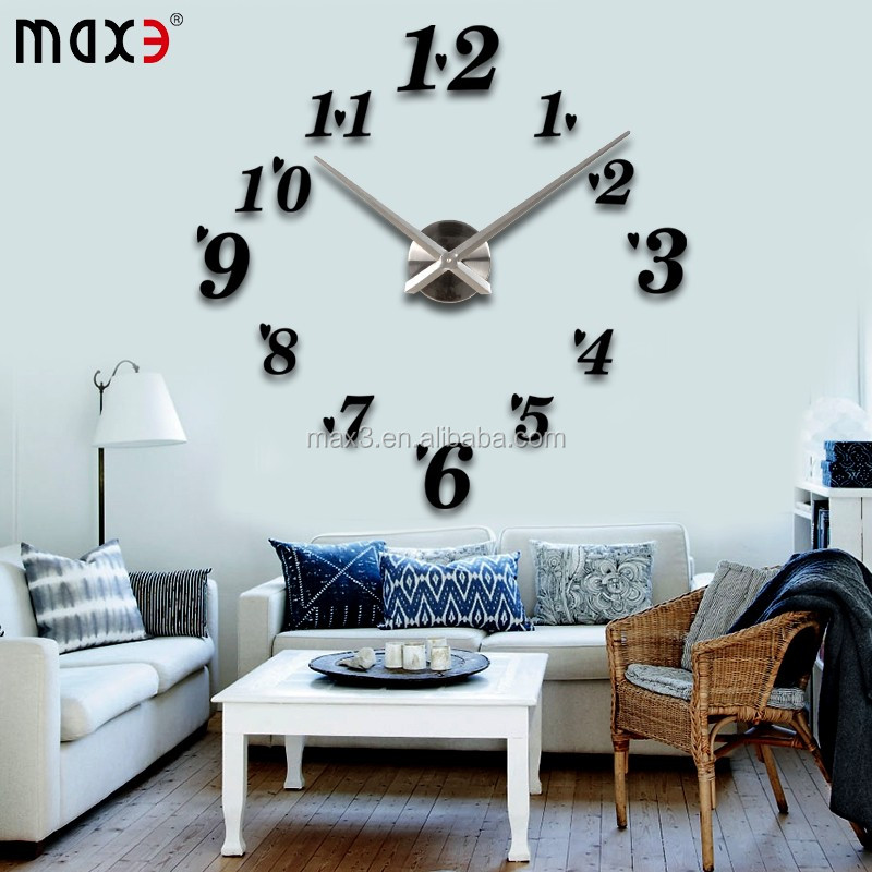 2016 special gifts wall clock china import items decor for for Home decor imports