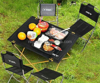 Factory sell cheapest outdoor table and chair camping table and chairs portable folding table and chair set
