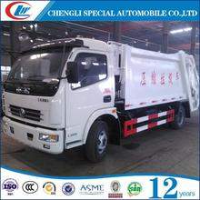 China Made 5m3 Compress Waste Garbage Truck Garbage Refuse Compactor Truck