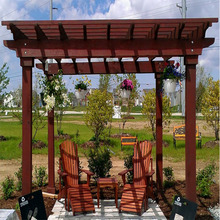newly design patio roofed cheap hardwood pergola