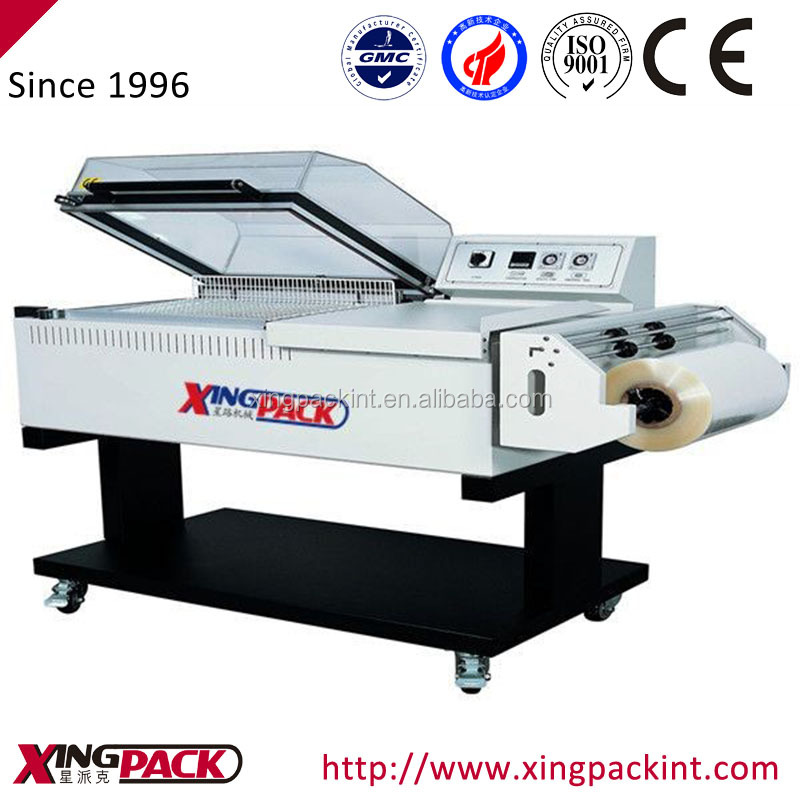 sealing and cutting shrink packing machine