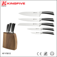 Hot sales Japanese stainless clad steel 6 pcs knife set