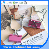 Hot selling stationery colored bulldog clips