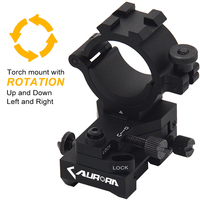 AURORA LASER FULLY WINDAGE AND ELEVATION ADJUSTABLE RIFLE-SCOPE MOUNT FOR HUNTING EQUIPMENT 30/25.4 MM TUBE DIAMETER