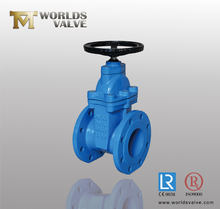 Non-rising Stem Resilient Steated Gate Valve