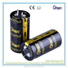 low esr high voltage E-caps electrolytic motor starting capacitor with best price