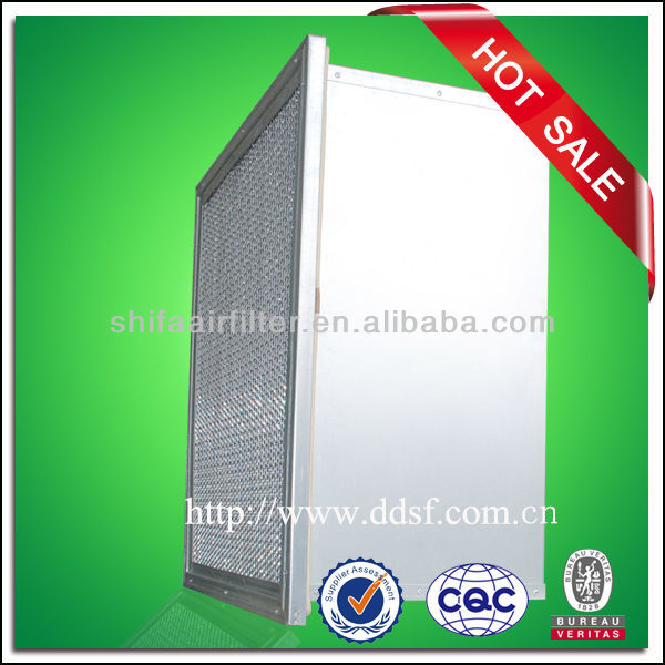 HEPA filter with aluminum separator for hospital and pharmacy