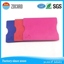 plastic ABS rfid blocking card holder Credit Card protector