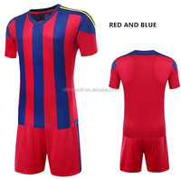 China factory supplies football clothes customized for football fans