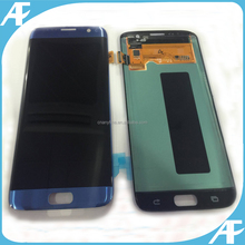 Original Full LCD Touch Screen Digitizer Assembly Replacement for Samsung Galaxy S7 Edge G935 G935F G935A G935FD White Blue Gold