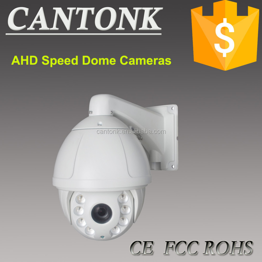 2015 New Big High Speed Dome Camera 150M IR LED Angle Automatically Adjusted Outdoor 18X 960P HD AHD PTZ