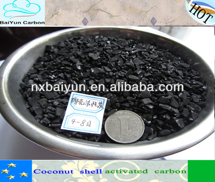 make activated carbon coconut shell for water treatment