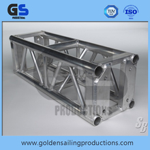 Used stage truss, aluminum lighting truss , 400mm x 400mm square aluminum truss frame