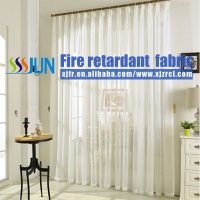 Classic Flame Proof Sheer Curtain For Shower Room
