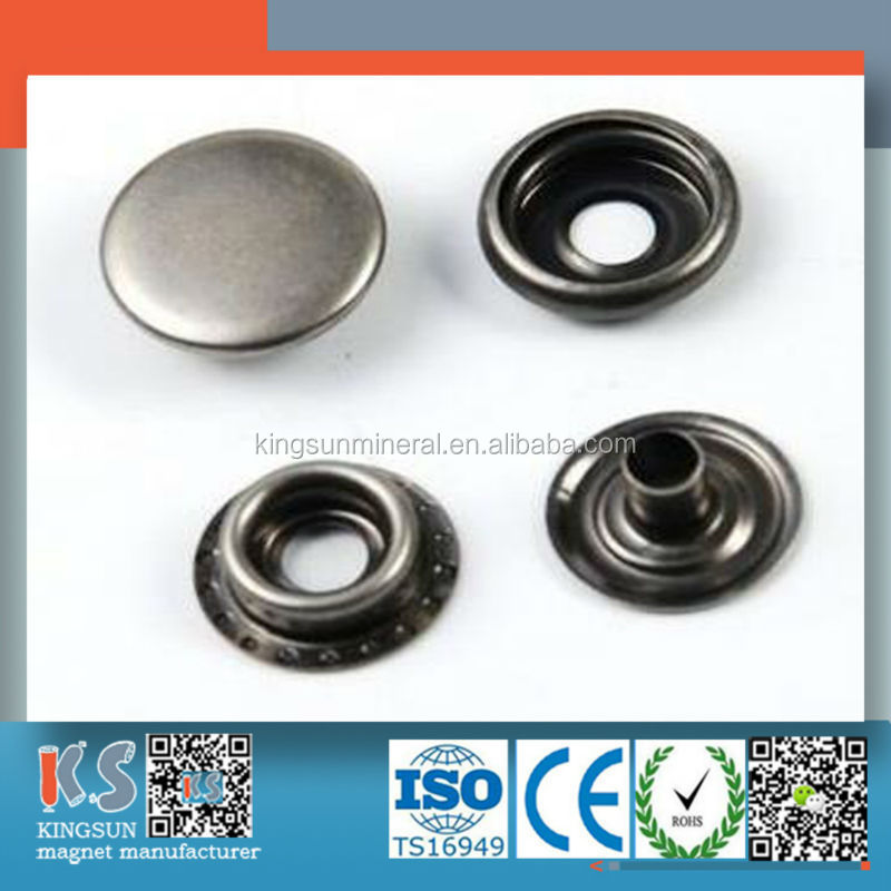 High Quality Neodymium Flat Top Snap Button