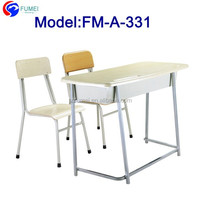 Wholesale double seat school desk for sale FM-A-331
