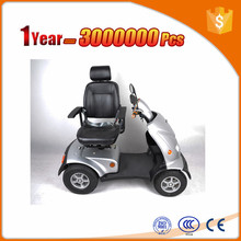 foldable four wheel quick step mobility scooter with one seat