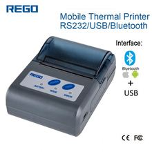 mini design pos thermal receipt usb restaurant portable 2 inch mini wireless printer Bluetooth