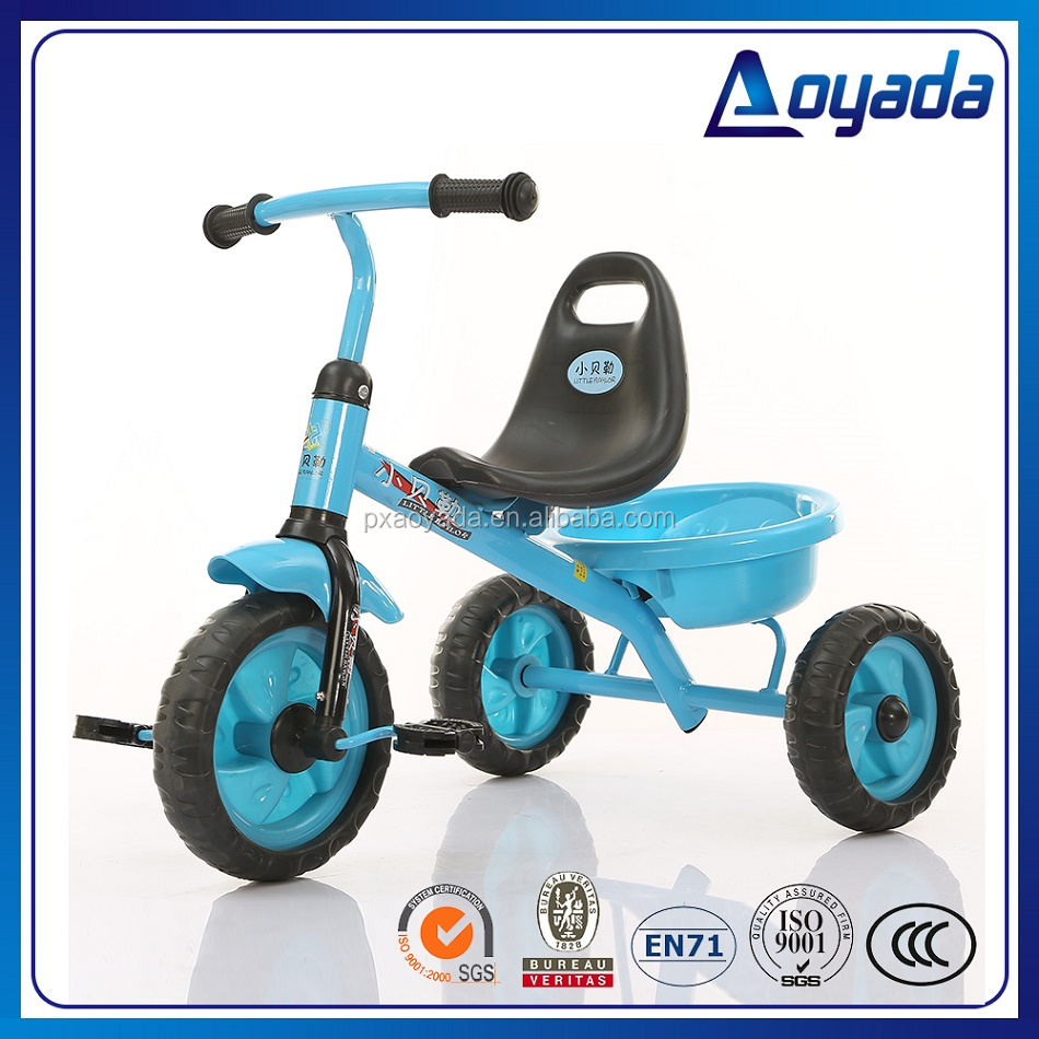 Hot sale plastic child pedal car/ child pedal tricycle / mini child pedal tricycle