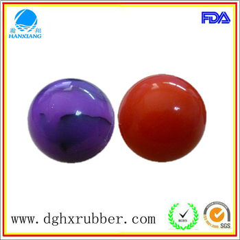 Dongguan manufacturer high bouncy silicone ice ball for whisky
