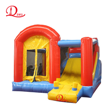 0.55mm PVC inflatable bouncer combo slide with CE and EN71